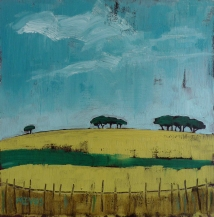 GREEN FIELDS (20 x 20cm)