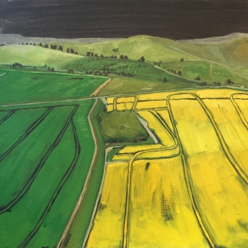 TRACTOR TRAILS (50 x 60cm)