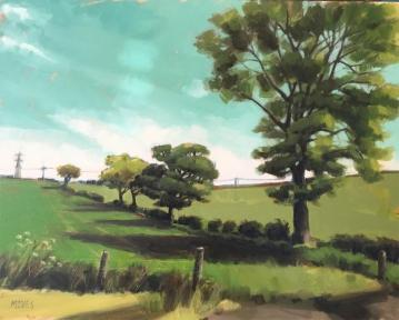 TREELINE (40 x 50cm)