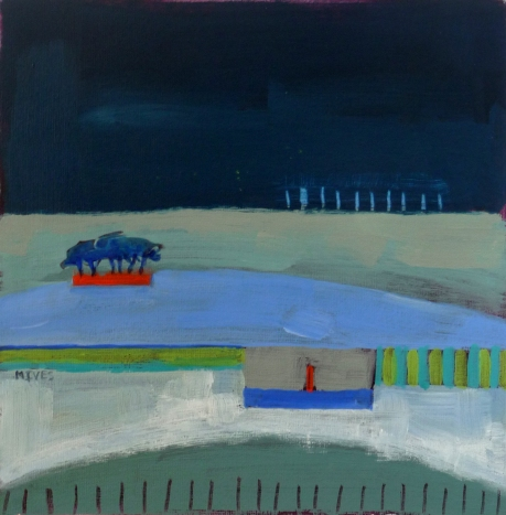 """NIGHT FIELDS"" 20cm x 20cm £195"