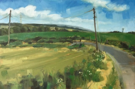 HIGH SUMMER (30 x 45cm)